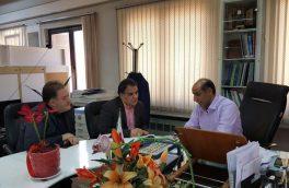 جلسه هیات مدیره سندیکا با سیف الله امیری در خصوص رفع معضل بارهای صادارتی اعضا
