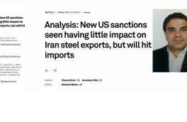Analysis: New US sanctions seen having little impact on Iran steel exports, but will hit imports
