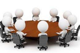 دعوت نامه ۵۸۴مین جلسه هیأت مدیره و دعوت از معاونت تشکلهای اتاق جهت تودیع و معارفه دبیر سندیکا