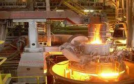 راه اندازی آزمایشی کوره پاتیلی مجتمع فولاد سبا